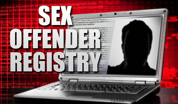Sex Crimes - Sex Offender Registry